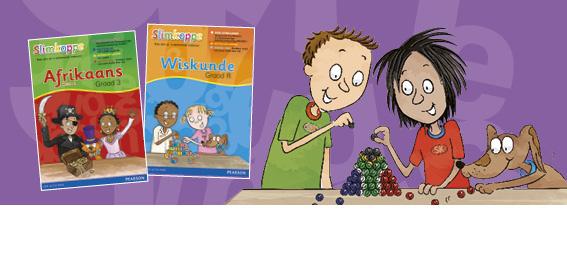 Laat die Slimkoppe help om jou kind se Afrikaanse vaardighede te ontwikkel.