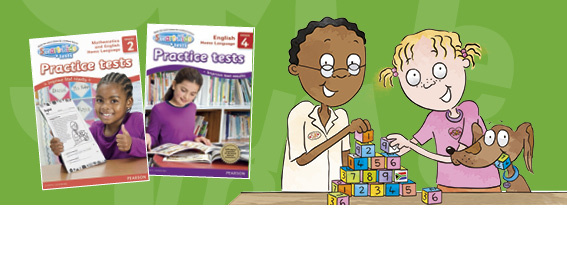 Smart-Kids Practice tests for Grades 1 to 6 in Mathematics and English Home Language.