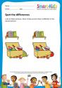 Preschool: Spot the differences