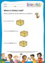 Preschool: Where is Stinky's ball?