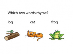 What two words rhyme?