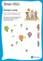 Smart-Kids Preschool Maths Worksheet