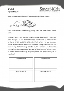 Grade 5 english worksheet types of nouns smartkids grade 5 english worksheet types of nouns ibookread Read Online