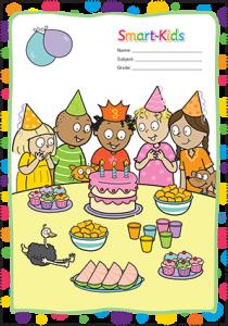 Smart-Kids printable book covers